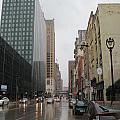 Rain On Water Street 2 by Anita Burgermeister