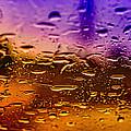 Rain On Windshield by J Riley Johnson