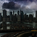 Rain Showers Likely Over Downtown Manhattan by Chris Lord