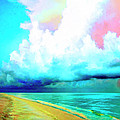 Rain Squall Na Pali Coast by Dominic Piperata