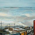 Rain Train by Asha Carolyn Young
