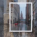 Rain Water Street W City Hall by Anita Burgermeister
