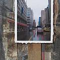 Rain Wisconcin Ave Tall View by Anita Burgermeister