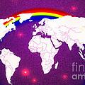 Rainbow's World 20 by Algirdas Lukas
