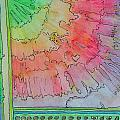 Rainbow 3-squared by Paula Deutz