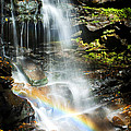 Rainbow And Falls by Paul W Faust -  Impressions of Light