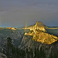 Rainbow And Half Dome 3 by SC Heffner