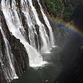 Rainbow At Victoria Falls by Aidan Moran