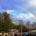 Rainbow At Wind Gap Park by Diane Paulhamus