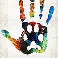 Rainbow Bridge Art - Never Forgotten - By Sharon Cummings by Sharon Cummings