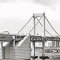 Rainbow Bridge In Tokyo by For Ninety One Days