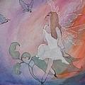 Rainbow Butterfly Fairy by Lynne McQueen