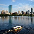 Rainbow Duck Boat On The Charles by Toby McGuire