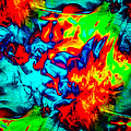 Rainbow Dye by Gerald Kloss