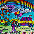 Rainbow Fair by Monica Engeler