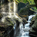 Rainbow Falls Square by Bill Wakeley