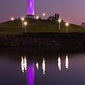 Rainbow Harbor Lighthouse by Heidi Smith