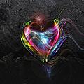 Rainbow Heart by Linda Sannuti