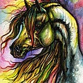 Rainbow Horse 2 by Angel Ciesniarska