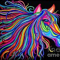 Rainbow Horse Too by Nick Gustafson