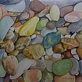 Rainbow In Stone by Teresa J Sharp