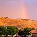 Rainbow In Toscana by Phyllis Kaltenbach