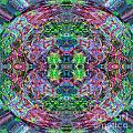 Rainbow Kaleidoscope  by Lori Sulger