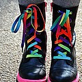 Rainbow Laces by Marianna Mills