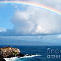 Rainbow Maui Hawaii by Jerome Stumphauzer