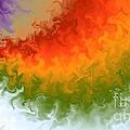 Rainbow On Fire by Art Studio