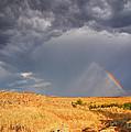 Rainbow On The Plains by Sarah Rodefeld