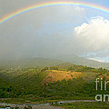 Rainbow Over Boquete by Heiko Koehrer-Wagner