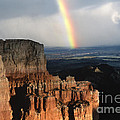 Rainbow Over  Bryce Canyon by Sandra Bronstein
