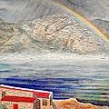 Rainbow Over Hermanus by Michael Durst