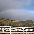 Rainbow Over Horse Ranch by Frank Wilson
