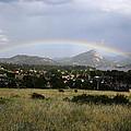 Rainbow Over Lake Estes by Shane Bechler