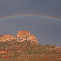 Rainbow Over Mt Johnson by Susan Rovira