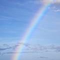 Rainbow Over Ocean by Jenna Szerlag
