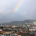 Rainbow Over Oslo by Carol Groenen