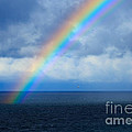 Rainbow Over The Atlantic Ocean by Louise Heusinkveld