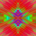 Rainbow Passion Abstract 2 by Andee Design