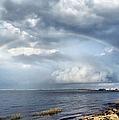 Rainbow Seascape by Janice Drew