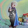 Rainbow Sherbet Little Ninja Boy by Feile Case