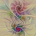 Rainbow Spirals by Deborah Benoit