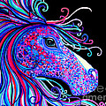 Rainbow Spotted Horse2 by Nick Gustafson