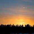 Rainbow Sunset by Cheryl Baxter