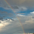 Rainbow Through The Clouds by Cheryl Baxter