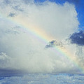 Rainbow Through The Clouds, Oahu by Panoramic Images