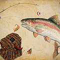 Rainbow Trout by Jean Plout