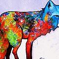 Rainbow Warrior - Fox by Joe  Triano